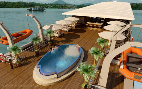 Rv amalotus cruise photos mekong vietnam cambodia cruises mekong river for River cruise ships with swimming pool