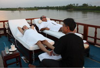 private Douce-Mekong cruise-Massage