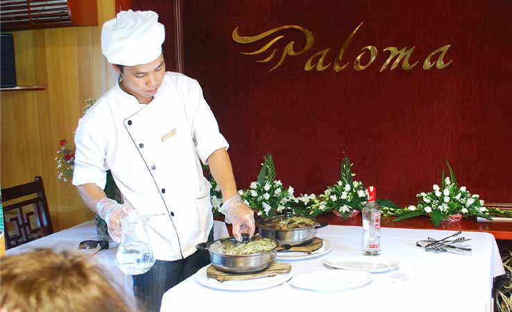 halong Bay paloma cruise Cooking Class