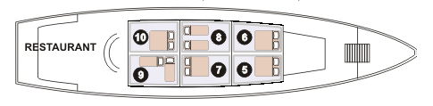 toum tiou cruise upperdeck plan